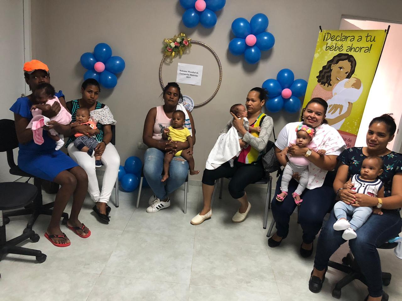 Asumen compromiso de fomentar Lactancia Materna