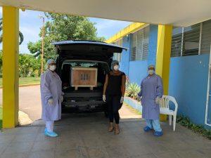 SNS entrega moderno equipo de Química Sanguínea al hospital Desiderio Acosta de Río San Juan con el objetivo de seguir fortaleciendo los servicios que ofrece el centro asistencial municipal.