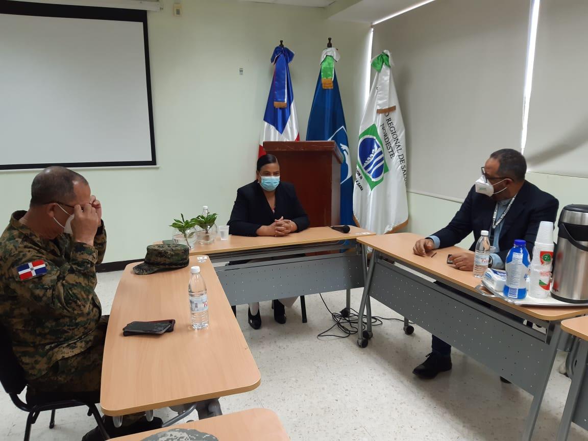 Servicio Regional de Salud Nordeste Realiza reunión con clínicas privada y otras instituciones en San Francisco de Macorís.