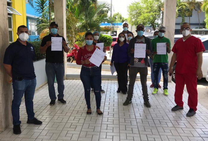 SNS nombra 53 colaboradores hospital San Vicente de Paúl