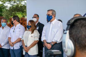 Read more about the article Abinader anuncia partida de 500 millones de pesos para terminar construcción Hospital Regional en SFM.