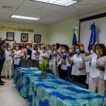 Director del SRSN juramenta nuevas encargas de Enfermería en hospitales de Duarte y Hermanas Mirabal