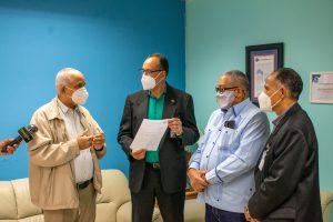 Read more about the article Director del SRSN recibe comisión de la Unión Deportiva provincia Duarte