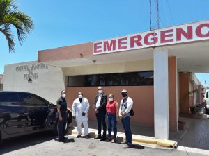 Read more about the article Director del SRSND visita hospitales en Semana Mayor