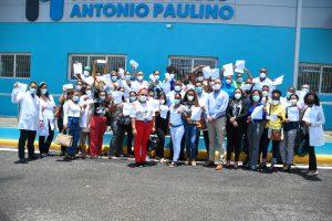 Read more about the article SRSND entrega 41 nombramientos a personal médico en hospital de Las Terrenas