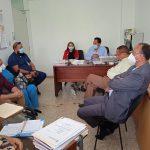 Socialización con Director del H. San Vicente de Paul